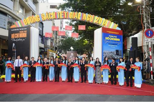 Thư viện khoa học tổng hợp với lễ hội đường sách tết năm 2014