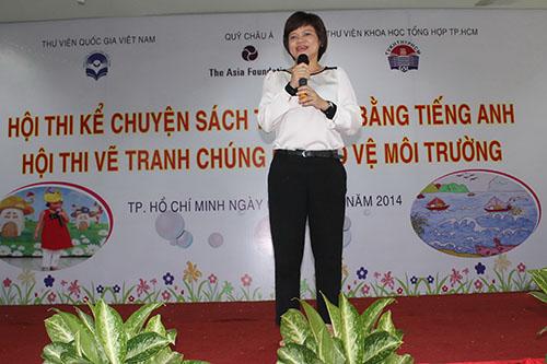 Lễ trao tặng sách thiếu nhi bằng tiếng anh do Quỹ Châu Á tài trợ