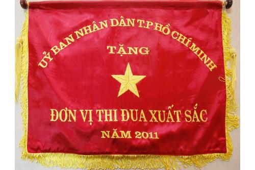 Cờ Thi đua do Ủy Ban Nhân dân TP. HCM tặng năm 2011