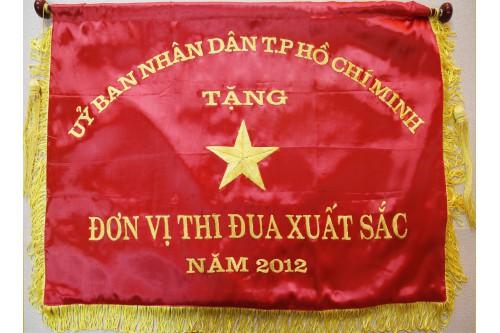 Cờ Thi đua do Ủy Ban Nhân dân TP. HCM tặng năm 2012