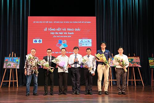 Lễ Tổng kết và Trao giải hội thi Nét Vẽ Xanh lần thứ XXII năm học 2018-2019