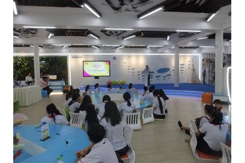 Thiếu nhi tiêu biểu tham quan Thư Viện Khoa Học Tổng Hợp Thành Phố Hồ Chí Minh