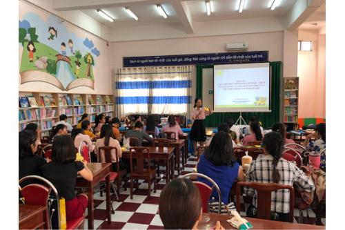 Tập huấn Chuyên môn Thư viện năm 2019 tại Thư viện tỉnh Bình Dương