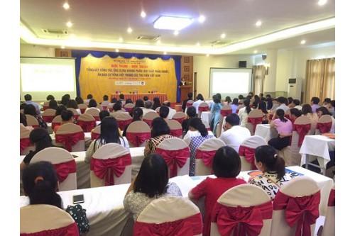 """Hội nghị - Hội thảo """"Tổng kết công tác ứng dụng Khung phân loại thập phân Dewey, Ấn bản 23 tiếng Việt trong các thư viện Việt Nam (2014 - 2019)"""