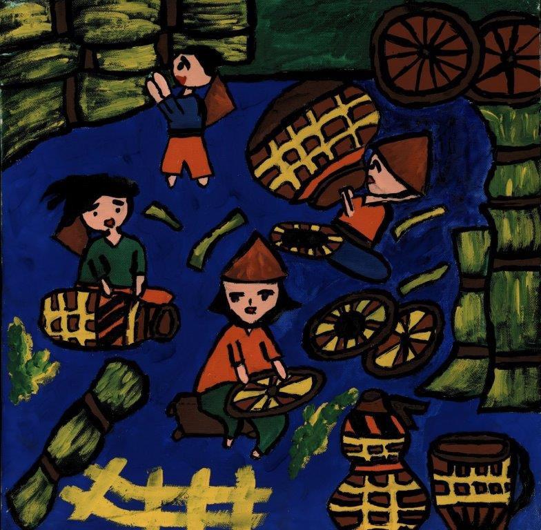 Làm cối truyền thống
