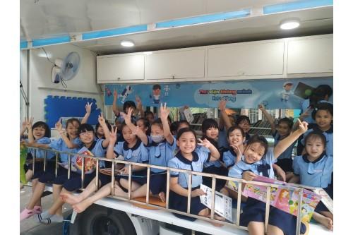 """Dự án """"Thư viện thông minh lưu động"""" Phục vụ đợt 03 / 2020 tại các Trường tiểu học trên địa bàn Quận Tân Bình - Tp. HCM"""