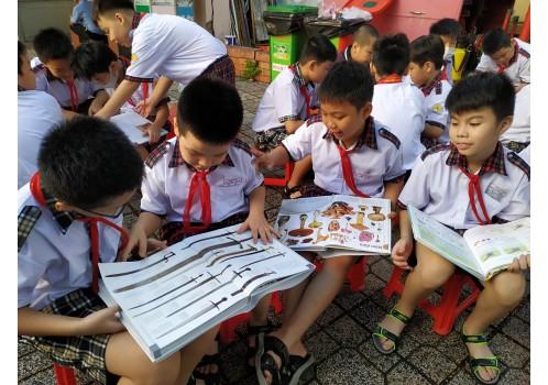 """Dự án """"Thư viện thông minh lưu động"""" Phục vụ đợt 04 / 2020 tại các Trường tiểu học trên địa bàn Quận Tân Bình - Tp. HCM"""