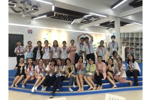 """Học Sinh trường THCS Hoàng Hoa Thám tham gia tiết học trải nghiệm tại """"Không gian công nghệ - Shub Kids"""""""