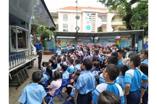 """Dự án """"Thư viện thông minh lưu động"""" Phục vụ đợt 05 / 2020 tại các Trường tiểu học trên địa bàn Quận Tân Bình - Tp. HCM"""