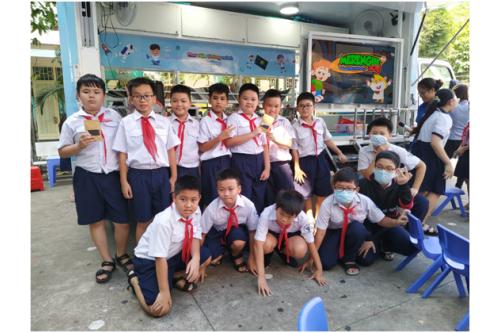 """Dự án """"Thư viện thông minh lưu động"""" Phục vụ đợt 06 / 2020 tại các Trường tiểu học trên địa bàn Quận Tân Bình - Tp. HCM"""