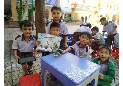 """Dự án """"Thư viện thông minh lưu động"""" Phục vụ đợt 07 / 2021 tại các Trường tiểu học trên địa bàn Quận Tân Bình - Tp. HCM"""