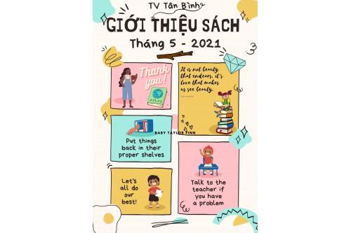 Thư viện Tân Bình - Giới thiệu sách mới Tháng 05 năm 2021