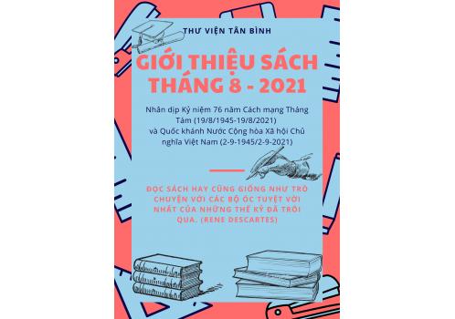 Thư viện Tân Bình - Giới thiệu sách mới Tháng 08 năm 2021
