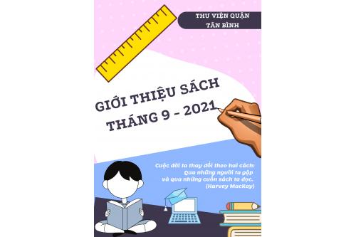 Thư viện Tân Bình - Giới thiệu sách mới Tháng 09 năm 2021