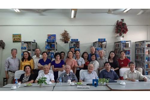 Tổng kết hoạt động thư viện năm 2019 và sinh hoạt CLB Bạn đọc Thư viện Phú Nhuận tháng 12/2019 giới thiệu Nhà văn Nguyễn Đình Thi