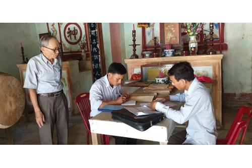 Chương trình sưu tầm, số hóa tài liệu Hán Nôm năm 2019