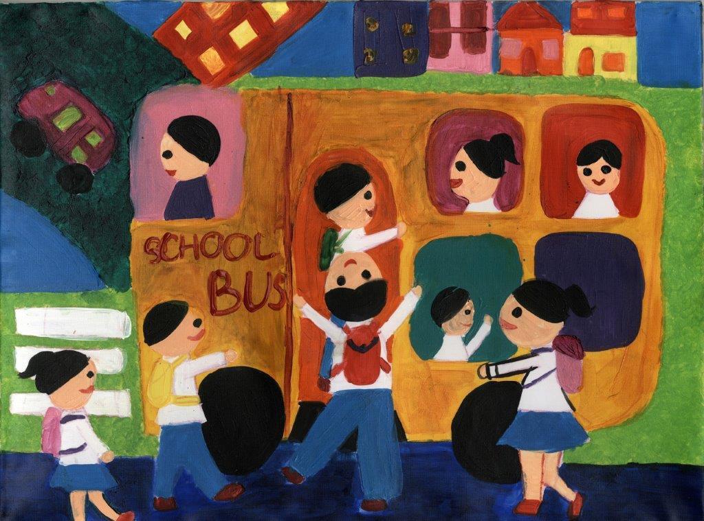 Xe buýt học đường